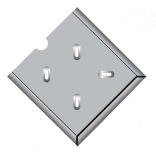 Держатель для инфармационного табло по ДОПОГ (оцинкованая сталь)