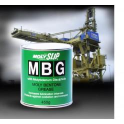 MBG Универсальная смазка на основе бентонита с молибденовыми добавками (450гр), MBG, Moly Slip