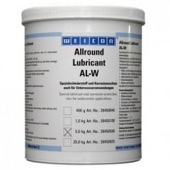 AL-W 5000 - Высокоэффективная жировая смазка (5 кг) защита от агрессивных жидкостей (морская и сточная вода)., wcn26450500, Weicon