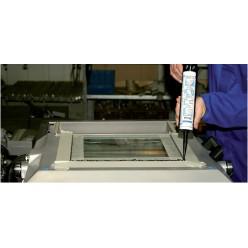 Black Seal WEICON Специальный силикон-герметик (310мл) картридж черный