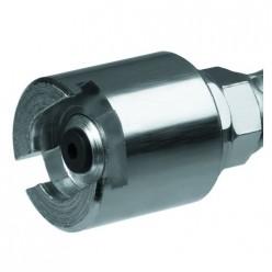 Накидная насадка для прессмасленок подключение сверху диаметр 16мм, 7368015, Umeta