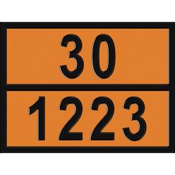 Табличка опасный груз по ДОПОГ 30/1203 - Керосин, Знак,