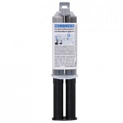 Epoxy Metal Minute-Adhesive Эпоксидный клей Темно-серый(24мл), wcn10551024, Weicon