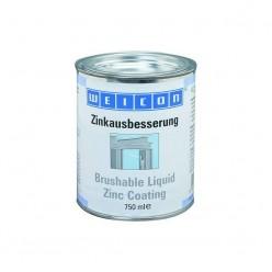 Brushable Zinc Coating - Защитное покрытие Цинк (375мл) для защиты от коррозии гальванизированных частей. Расход 1,25 г/см3, wcn15001375, Weicon