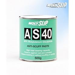 AS-40 Высокотемпературная противозадирная (500гр), AS-40, Moly Slip