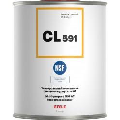CL-591 -   Очиститель универсальный с пищевым допуском A7 (Банка 1л). EFELE, 0091853, EFELE
