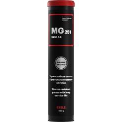 MG-251 -  Пластичная долговременная смазка с EP-присадками (полимочевина)(Картридж 400 г) EFELE, 0093178, EFELE