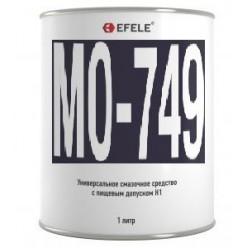 MO-749 -  Масло для цепей с графитом  (Банка 1л), EFELE, 0093642, EFELE
