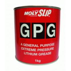 GPG Смазка общего назначения на литиевой основе с EP-добавками (1кг), GPG, Moly Slip