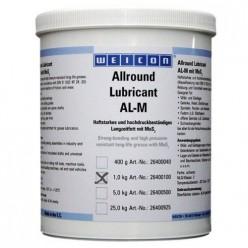 AL-M 1000 - Высокоэффективная жировая смазка (1 кг) устойчива к высокому давлению с молибденом., wcn26400100, Weicon