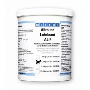 AL-F 1000 - Высокоэффективная жировая смазка (1 кг) для вращающихся и скользящих поверхностей в пищевой промышленности. wcn26550100 Weicon