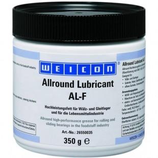 AL-F 350 - Высокоэффективная жировая смазка (350 г) для вращающихся и скользящих поверхностей, в пищевой промышленности. wcn26550035 Weicon