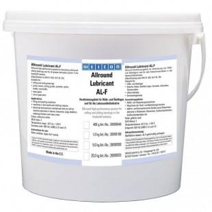 AL-F 5000 - Высокоэффективная жировая смазка (5 кг) для вращающихся и скользящих поверхностей, в пищевой промышленности. wcn26550500 Weicon