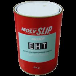 EHT Высокотемпературная смазка на основе бентонита с молибденом и графитом (5кг), EHT, Moly Slip