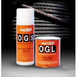 MWRL  Полужидкая смазка для стальных тросов и открытых механизмов(5кг), MWRL, Moly Slip