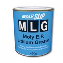 MLG Литиевая смазка с молибденовыми добавками (400гр)туба, MLG, Moly Slip