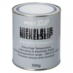 NICKELSLIP Высокотемпературная противозадирная смазка (500гр), NICKELSLIP, Moly Slip