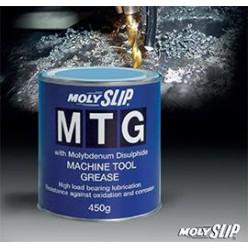 MTG Молибденовая смазка на литиевой основе для станков и инструмента (450гр) СОЖ(смазочно-охлаждающая жидкость), MTG, Moly Slip